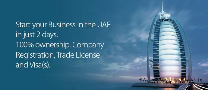 Business Set Up Dubai - Start your Business in the UAE in just 2 days. 100% ownership. Company Registration, Trade License and Visa(s).